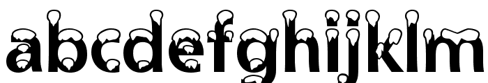 Snowdrift Font LOWERCASE