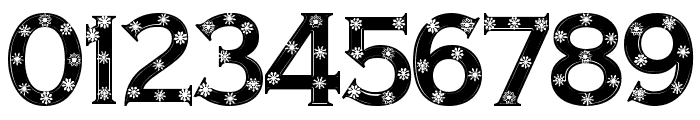 Snowflake Letters Font OTHER CHARS
