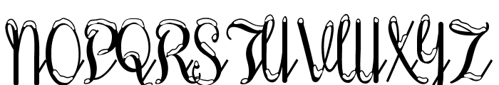 SnowhouseDEMO Font UPPERCASE