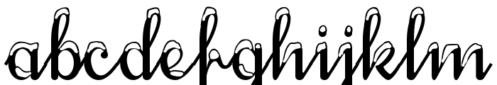 SnowhouseDEMO Font LOWERCASE