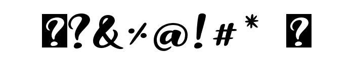 Snowman Dudes Regular Font OTHER CHARS