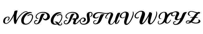 Snowman Dudes Regular Font UPPERCASE
