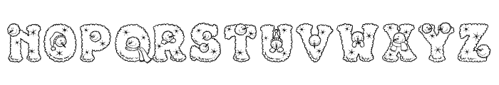 Snowpersons Font UPPERCASE