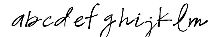 Snowshoe Font LOWERCASE