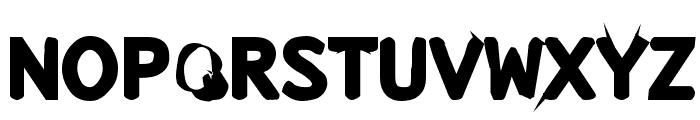 Snuskpk Font UPPERCASE