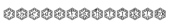 snowman1_kg Font LOWERCASE