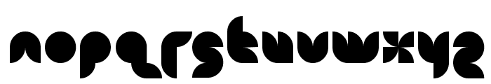 snowmask Font UPPERCASE