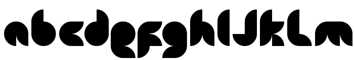 snowmask Font LOWERCASE