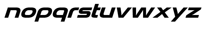 Snasm Italic Font LOWERCASE