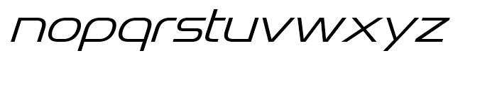 Snasm Light Italic Font LOWERCASE