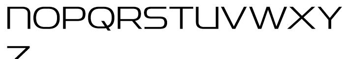 Snasm Light Font UPPERCASE
