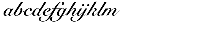 Snell Roundhand Bold Font LOWERCASE