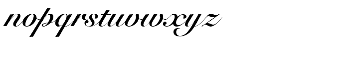 Snell Roundhand Script Bold Font LOWERCASE