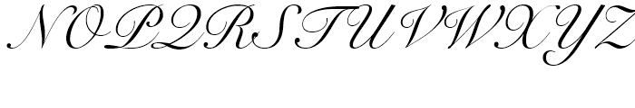 Snell Roundhand Script Font UPPERCASE