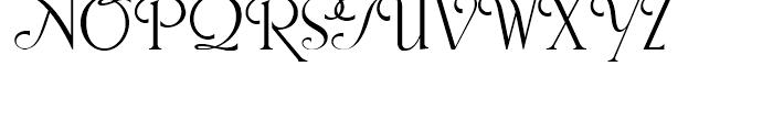 Snooty Fox NF Regular Font UPPERCASE