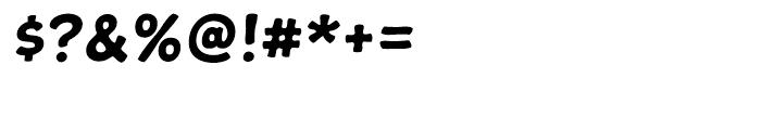 Snowa Regular Font OTHER CHARS
