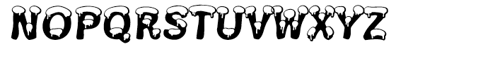 Snowa Snow Font UPPERCASE