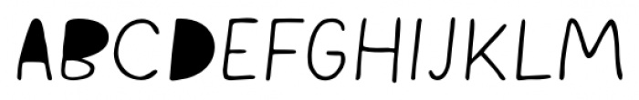 Snow Cone Pro Closed Font UPPERCASE