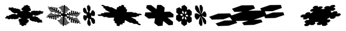 Snowflakes Falling Regular Font OTHER CHARS