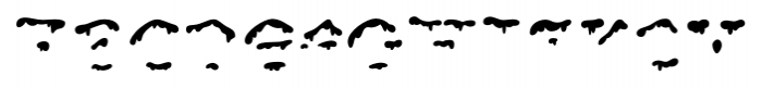 Snowgoose Front Font UPPERCASE