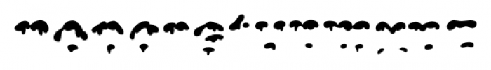 Snowgoose Front Font LOWERCASE