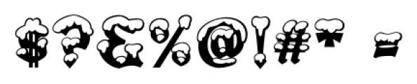 Snowgoose Regular Font OTHER CHARS