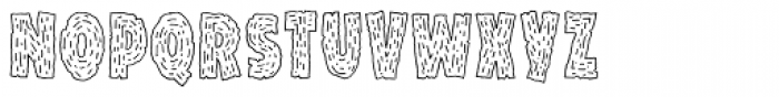 Snack Patrol1 Font LOWERCASE