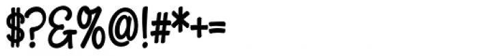 Snackbar Skinny Bold Font OTHER CHARS