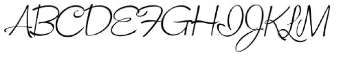 Snackbar Skinny Light Italic Font UPPERCASE