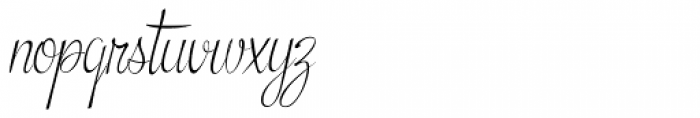 Snackbar Skinny Light Italic Font LOWERCASE
