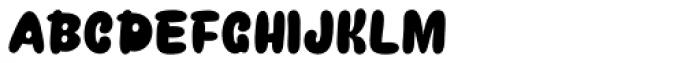 Snacker Comic Black Font UPPERCASE
