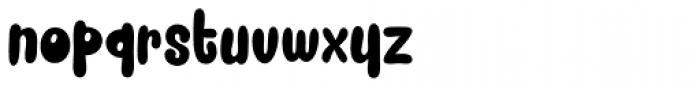 Snacker Comic Black Font LOWERCASE