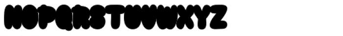 Snacker Comic Outline Font UPPERCASE