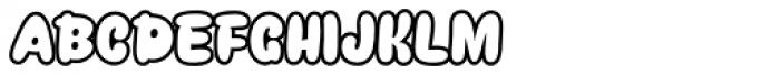 Snacker Comic Font UPPERCASE