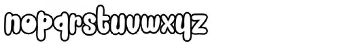 Snacker Comic Font LOWERCASE