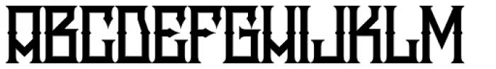 Snake Whiskey Font UPPERCASE