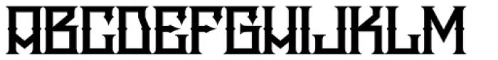 Snake Whiskey Font LOWERCASE