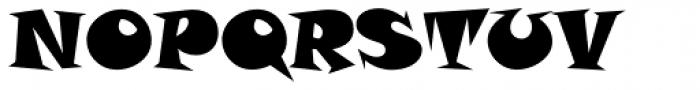 Snap Std Font UPPERCASE