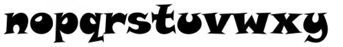 Snap Std Font LOWERCASE