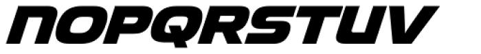 Snasm Heavy Italic Font UPPERCASE