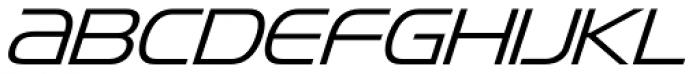 Snasm Light Italic Font UPPERCASE