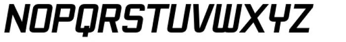 Snather Heavy Bold Italic Font UPPERCASE