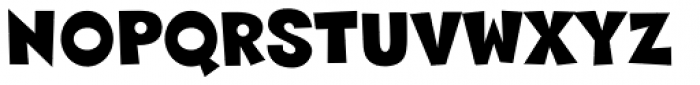 Sneakerhead BTN Font UPPERCASE