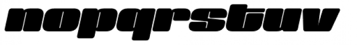 Sneakers Max 200 Bold Oblique Font LOWERCASE