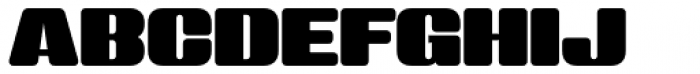 Sneakers Max 500 Regular Font UPPERCASE