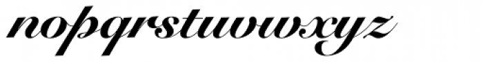 Snell Roundhand Black Script Font LOWERCASE