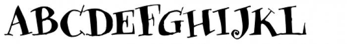 Sniff Medium Font UPPERCASE
