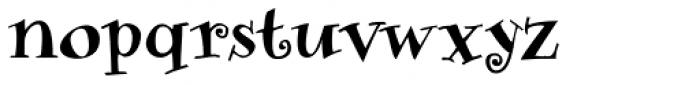 Sniff Medium Font LOWERCASE