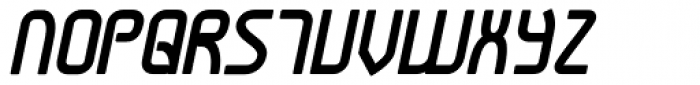 Snoofer Bold Italic Font UPPERCASE