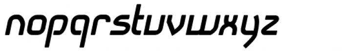Snoofer Bold Italic Font LOWERCASE